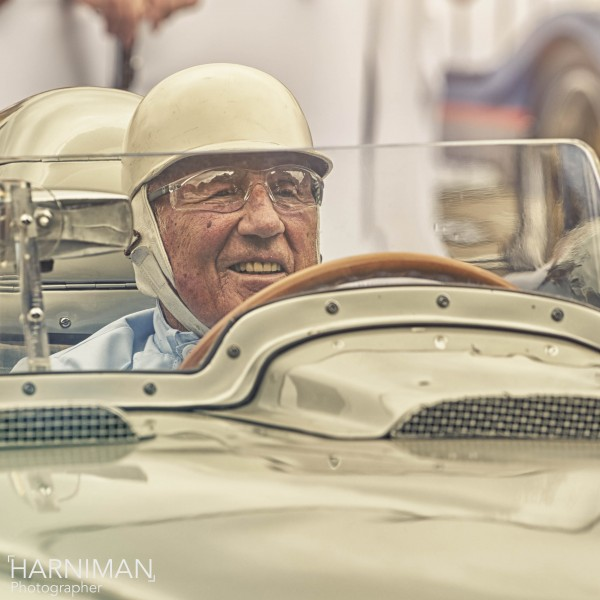 Sir Stirling Moss at FOS Goodwood 2015