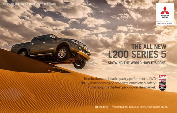 Mitsubishi Sahara press ads