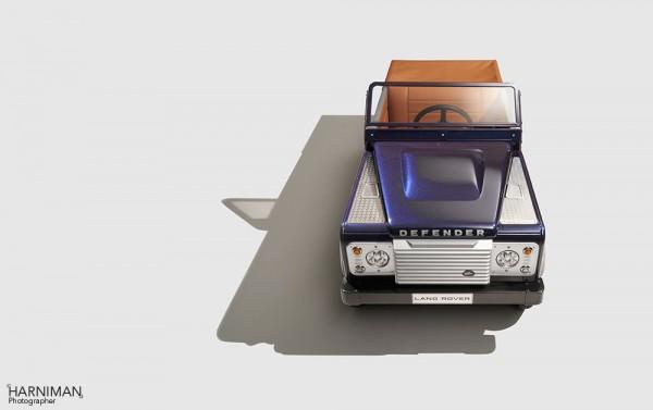 LandRover Defender Bespoke concept pedal car 2015 studio shoot