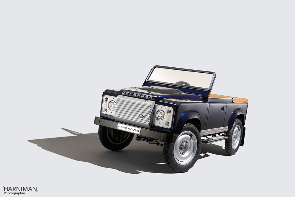 Fun sized Land Rover Defender Concept!