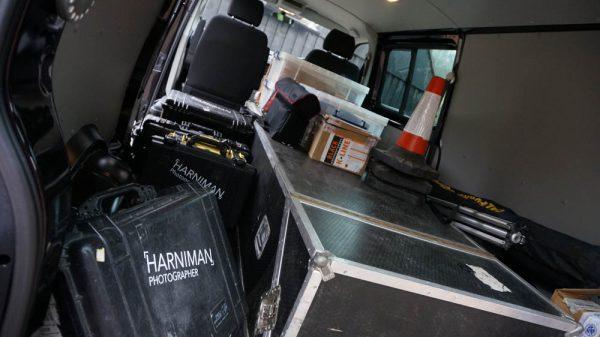 (Not) travelling light! The grip van.