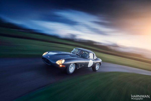 Jaguar E-Type Lightweight - rig shot