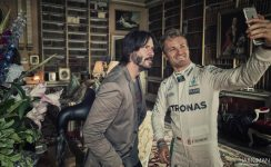 Festival of Speed 2016 Goodwood Keanu Reeves & Nico Rosberg Selfie