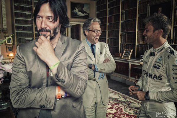Festival of Speed 2016 Goodwood by Harniman, FoS, Festival of Speed, 2016, keanu reeves, nico rosberg, lord march, library, driver, portrait