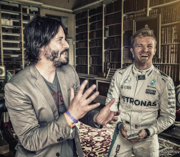 Festival of Speed 2016 Goodwood by Harniman, FoS, Festival of Speed, 2016, keanu reeves, nico rosberg, library, driver, portrait