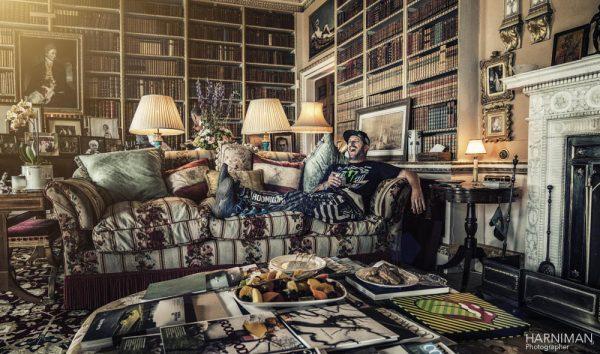 Festival of Speed 2016 GoodwoodKen Block on Lord March's sofa!