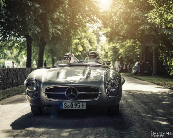 The Wolffs and a Mercedes-Benz 300 SLS