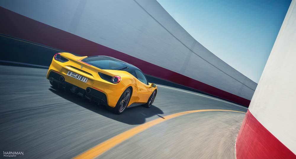 Flying in a Ferrari…