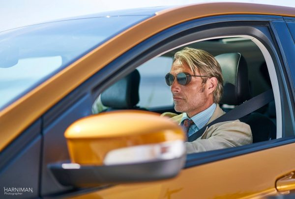 Mads Mikkelsen Le Fantome for Ford Edge
