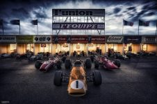 Goodwood Revival 2016 F1 Reims 1966