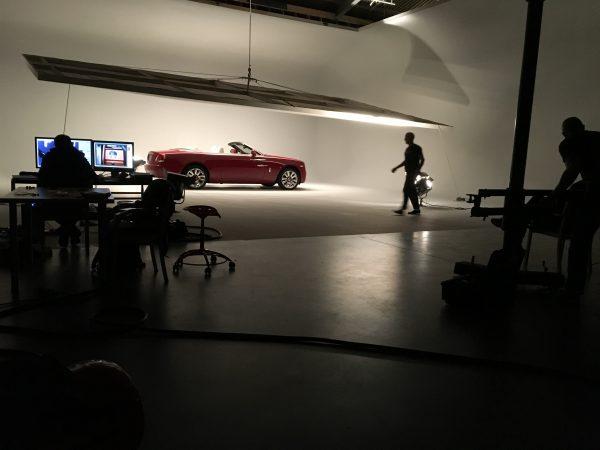 Rolls-Royce studio BTS