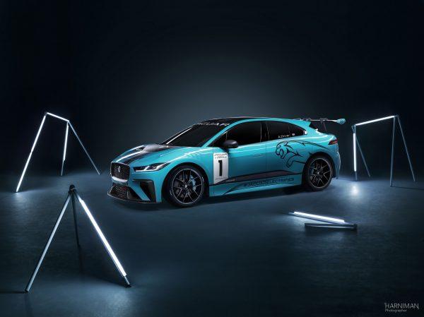 Jaguar IPace Front three quarters