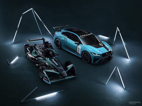Jaguar IPace & IType High Front shot