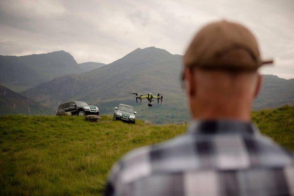 Shogun drone filming