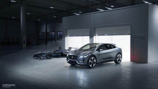 Jaguar IPace & IType on location in Austria