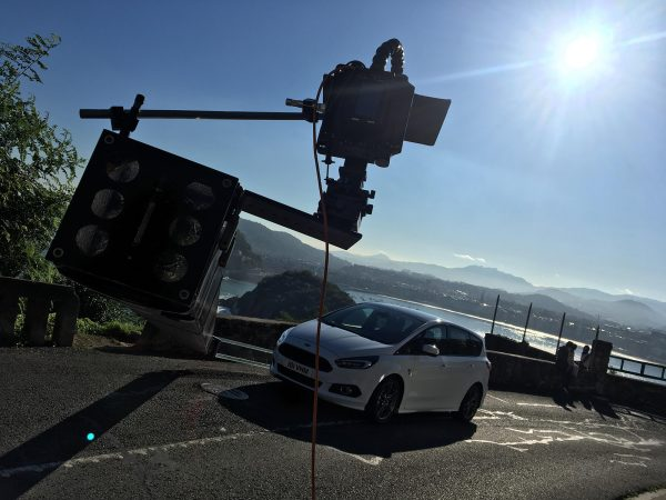 Ford SMax behind the scenes - rig set up