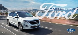 Ford Edge summer 48 sheet harniman