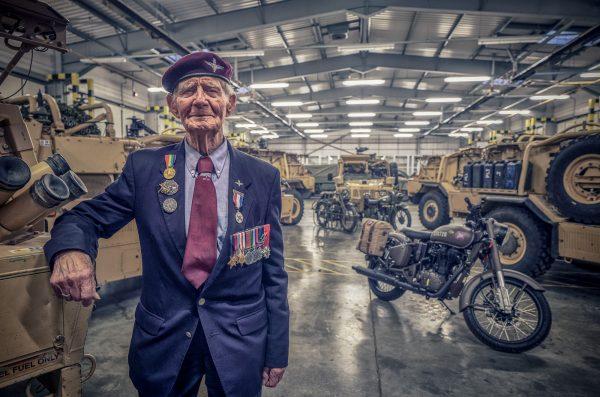 Fred Glover 9th Batt., Parachute Regt. 6th AB Div. at Merville Barracks Colchester