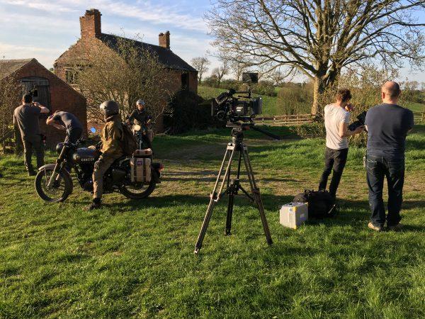 Behind the scenes - shooting Royal Enfield