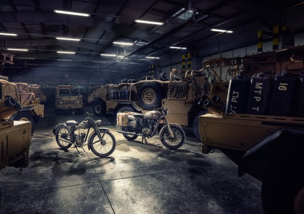 Flying Flea - the inspiration and Royal Enfield Pegasus Limited Edition