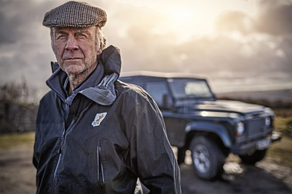 Sir Ranulph Fiennes Land Rover 70th