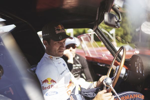 Sébastien Ogier and Marino Franchitti in possibly one of the worlds most expensive cabins...