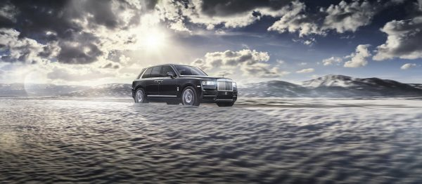 Rolls-Royce Cullinan on location in Croatia