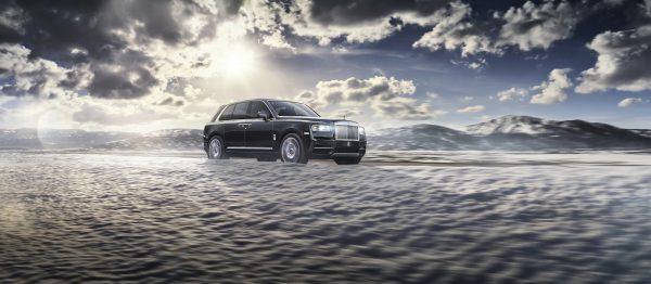 Rolls-Royce Cullinan on location in Croatia