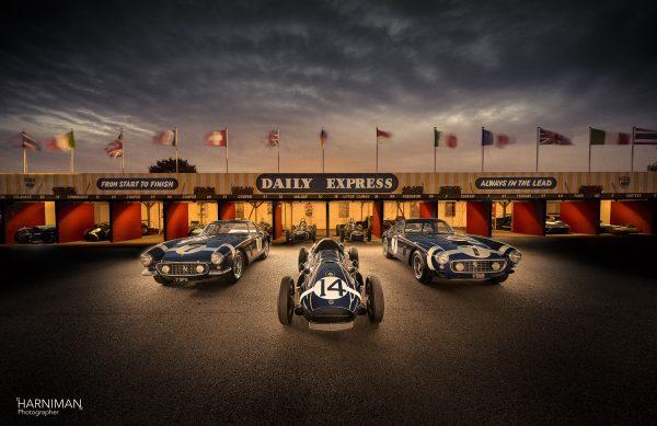 Revival 2018 Lightpainting - Ferrari & Cooper Climax
