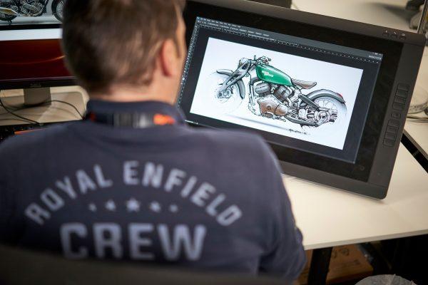 Filippo Corticelli and the concept design