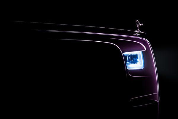Rolls-Royce Phantom teaser harniman