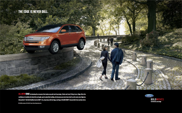 Ford Edge USA Final Press AD