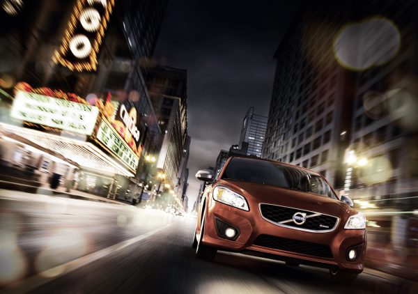 Chicago 'Spirit of Free Will' campaign Volvo C30