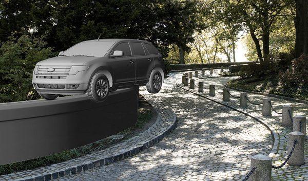 Ford Edge USA press campaign CG build