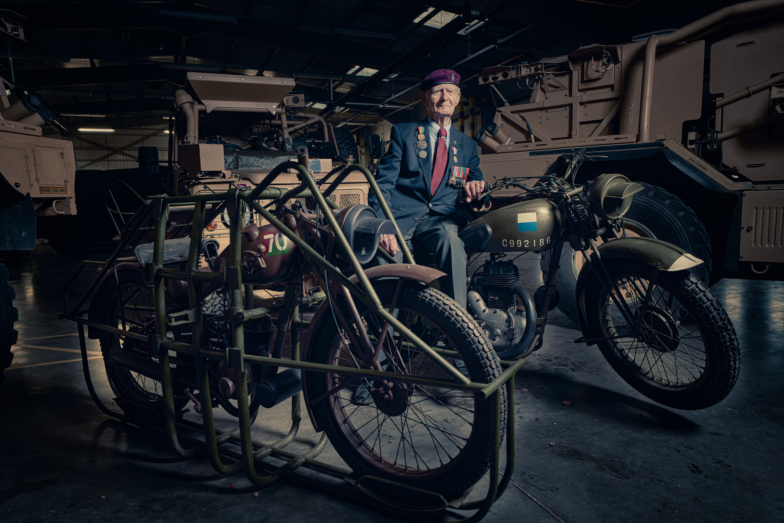 A Two-Wheeled Tribute to Wartime Heroes