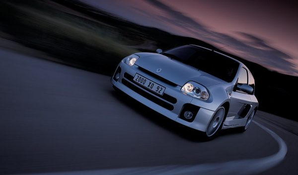 Renault Clio V6 book cover