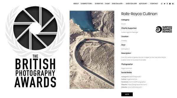 BPA Awards - Rolls-Royce Cullinan