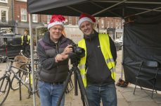 On location with Harniman December 2019