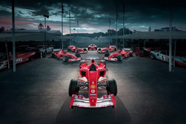 Michael Schumacher 50th Ferarris