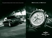 Bentley & Breitling Arnage Wall Street Journal